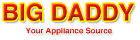 Big Daddy Appliance Logo